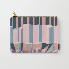 Straight Geometry City 1 Carry-All Pouch