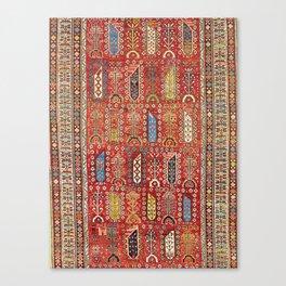 Shirvan Caucasian Antique Carpet Canvas Print