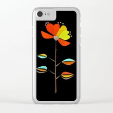 Fantasy . Flower . Love . Clear iPhone Case