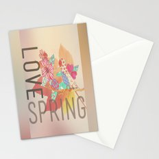 LOVE SPRING Stationery Cards
