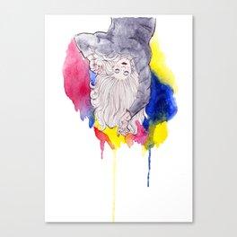 Shaggy Sweater Sundays Canvas Print
