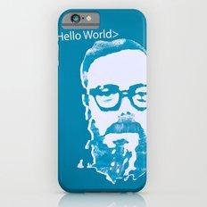 Hello World - This is a portrait of Dennis Ritchie  Slim Case iPhone 6s