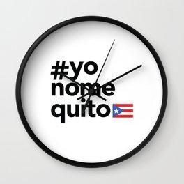 #yonomequito Wall Clock