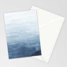 Indigo Abstract Painting   No. 4 Stationery Cards