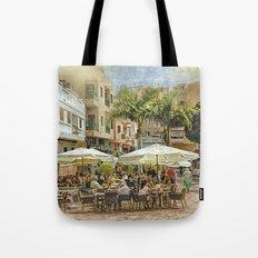 Cafe Veril, Alcala, Tenerife Tote Bag