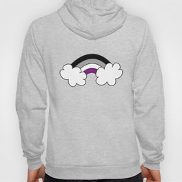 "Asexual Ace Flag ""Rainbow"" Hoody"