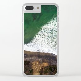 Surfs Up Clear iPhone Case