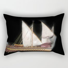 Goddess Voyage Rectangular Pillow