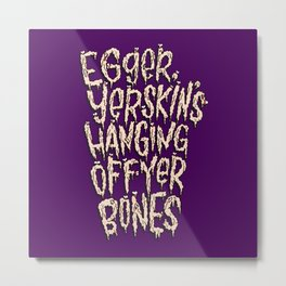 Edgar The Bug Metal Print