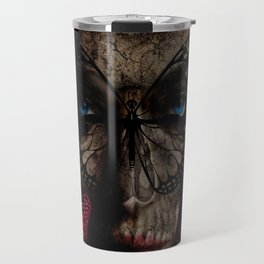 """""""Dark Beauty"""" by Marie Plourde All Rights Reserved.  Travel Mug"""