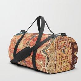 Konya Central Anatolian Niche Rug Print Duffle Bag