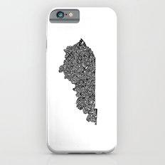 Typographic Kentucky iPhone 6s Slim Case