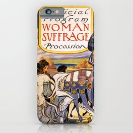 Women's March On Washington, Votes For Women, Women's Suffrage iPhone Case