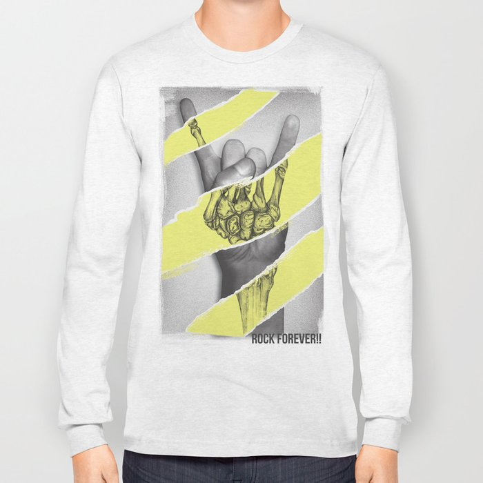 ROCK FOR EVER Long Sleeve T-shirt