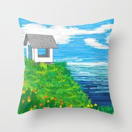 The Lookout II Throw Pillow
