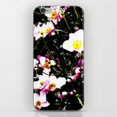 Pink Flowers (Edited)  iPhone & iPod Skin