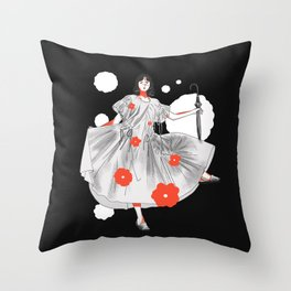 Could b U & Me Illustration 2 Throw Pillow
