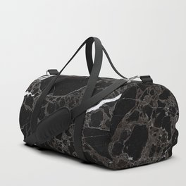 NETWORKED BLACK & WHITE Duffle Bag
