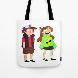 Dipper and Mable Tote Bag