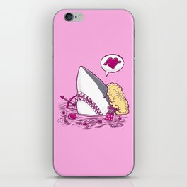 Cupid Shark in Water iPhone Skin