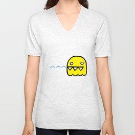 le fantôme jaune Unisex V-Neck