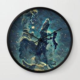 ALTERED Pillars of Creation Wall Clock