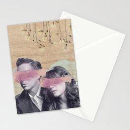 Feminine Collage IV Stationery Cards