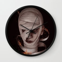 Watch me burn Wall Clock