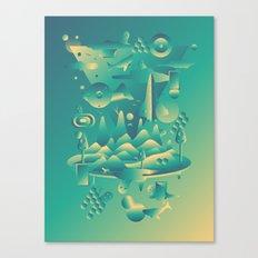 Geometromorphic Dream Canvas Print