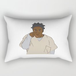 Crazy Eyes Rectangular Pillow