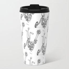 Cartoon Retro Mod Stingray 8-Track Muscle Bike Bicycle Stingray Travel Mug