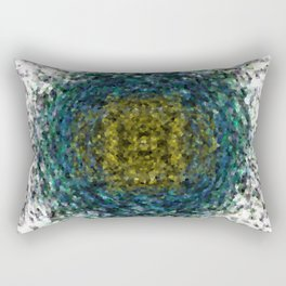 Geode Abstract 01 Rectangular Pillow