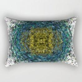 Geode Abstract 01 Rectangular Pillow