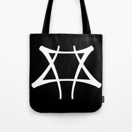 Vance Symbol on Black Tote Bag