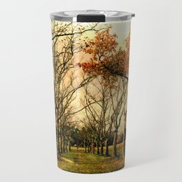 Chester County, PA: A path in the park Travel Mug