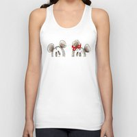 minnie mouse Tank Tops featuring Mickey and Minnie Mouse.  by Christa Morgan ☽