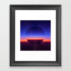 Blue Evening Framed Art Print