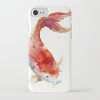 ginger iPhone & iPod Cases featuring Ginger by Hiraeth