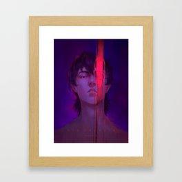 Red Paladin Framed Art Print