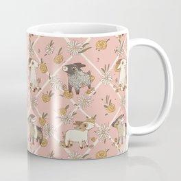 goat pattern 2 Coffee Mug