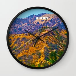 @Hollywood Wall Clock