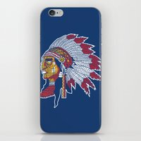 indiana iPhone & iPod Skins featuring indiana by Hugo Tunes