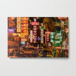 Bangkok - Chinatown Metal Print