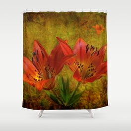 Textured Glory of the Prairies Shower Curtain