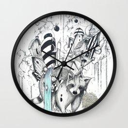 RACCONLANDIA Wall Clock