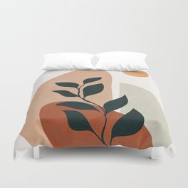 Soft Shapes II Duvet Cover