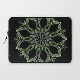 Alien Mandala Swirl Laptop Sleeve