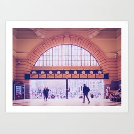 Flinders Street Station Entry Fine Art Print Art Print