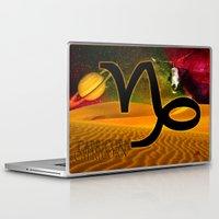 capricorn Laptop & iPad Skins featuring Capricorn by LBH Dezines