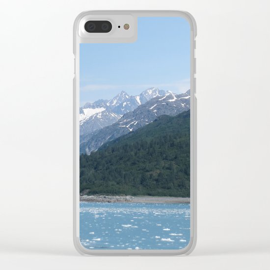 Alaskan Mountainview Clear iPhone Case